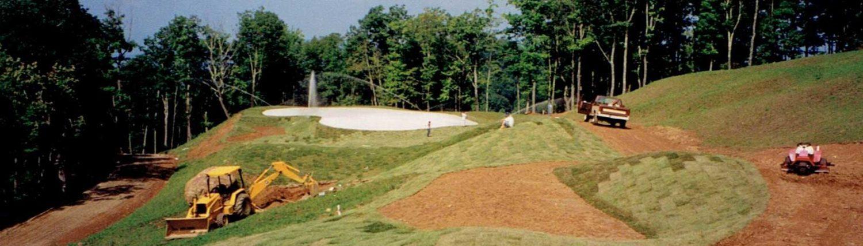mountain air golf course construction