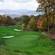 luxury golf course at mountain air