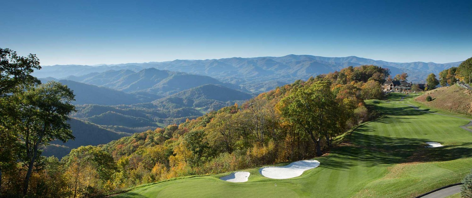 luxury golf properties with mountain views
