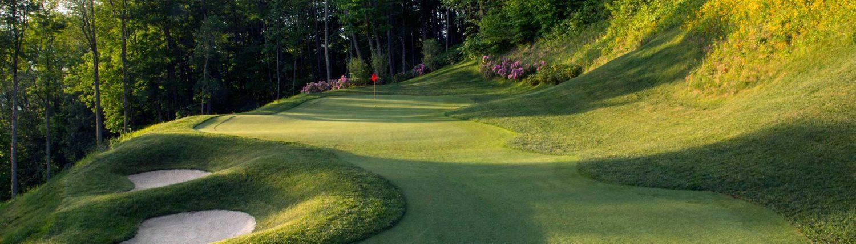 mountain air 18 hole golf course