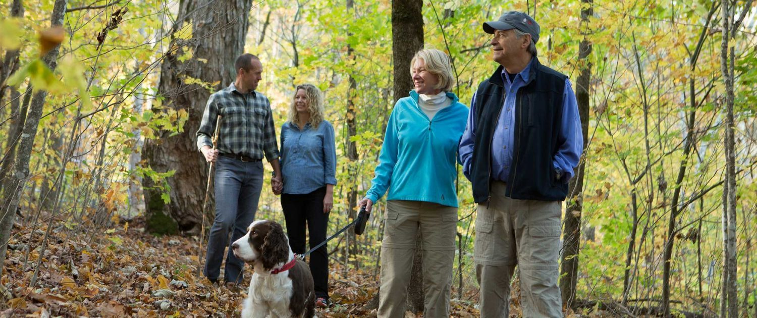 nature walks at mountain air in the pisgah forest